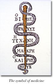 The symbol of medicine